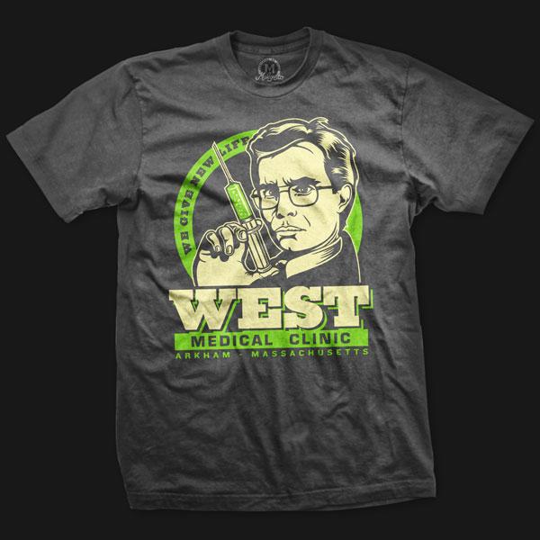 west reanimator t-shirt