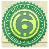 6 dollar shirts logo