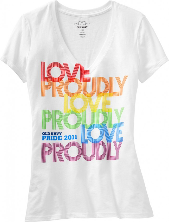 old navy gay rghts t-shirt