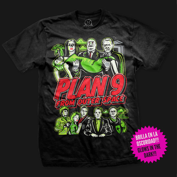 plan 9 movie t-shirt