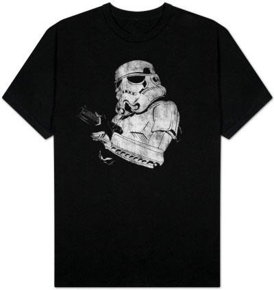 star wars t-shirt storm trooper