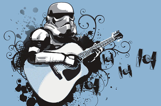 storm trooper guitar