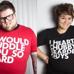 chubby bearded t-shirts