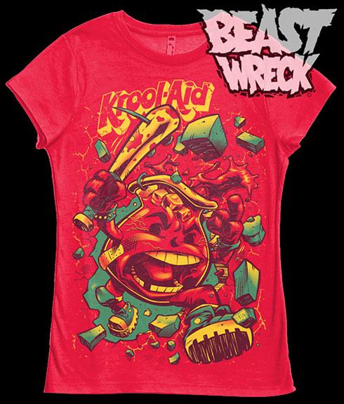Kool Aid angry bat t-shirt