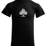 burn card t-shirt