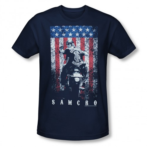 sons of anarchy t-shirts flag