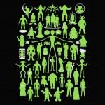 Alien celebrity t-shirt