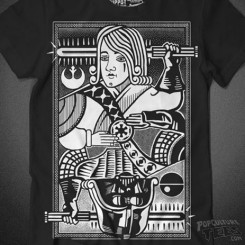 darth vader king of darkside t-shirt playing card