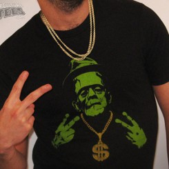 gangsta frankenstein t-shirt