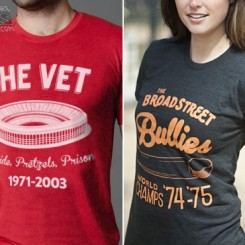 veterans stadium philadelphia t-shirts