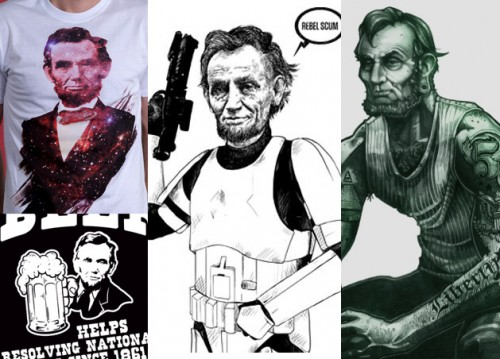 more abraham lincoln t-shirts