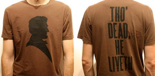 president Lincoln Silhouette t-shirt