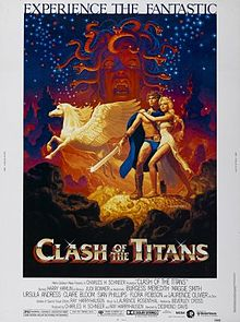 clash of the titans movie poster 1981
