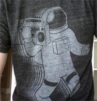 funkalicious shirt astronaut 80s