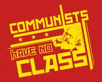 funny communist shirt no class