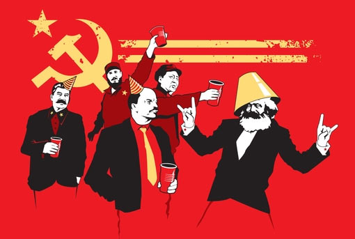 communist party t-shirt funny