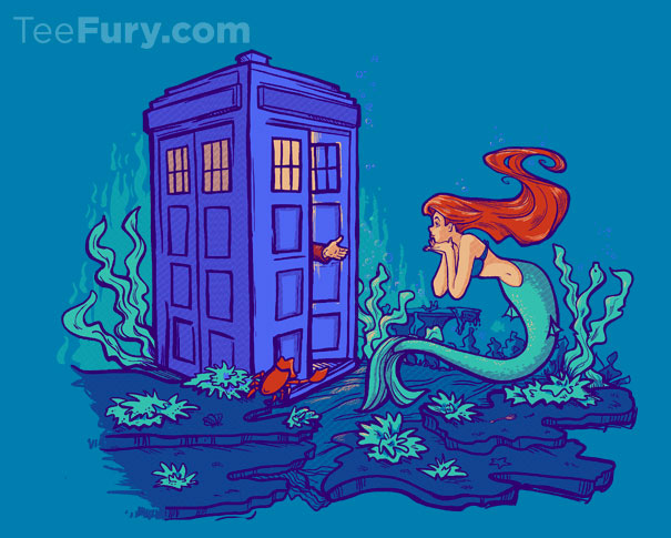 little mermaid dr who Ariel
