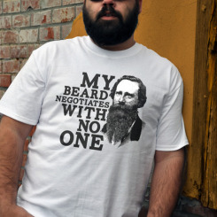 funny beard shirt negotiate