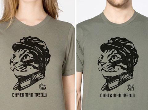 chairman meow army tshirts