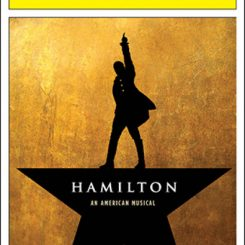 hamilton broadway musical playbill