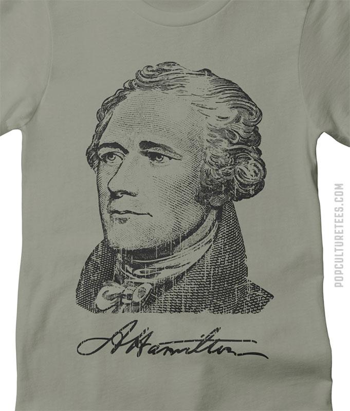 hamilton revolution tshirt women