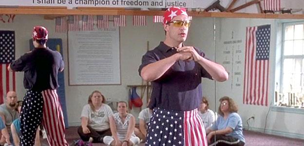 napoleon dynamite patriotic pants