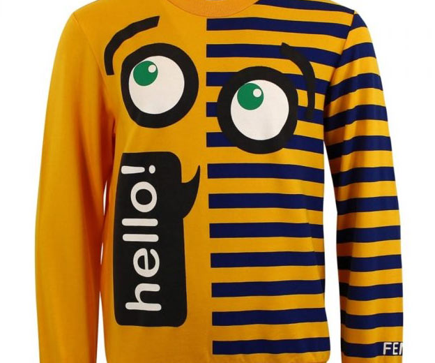 fendi kids tshirt