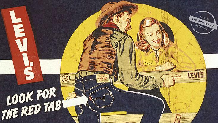 vintage workwear ad